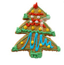 cookie in shape of christmas tree